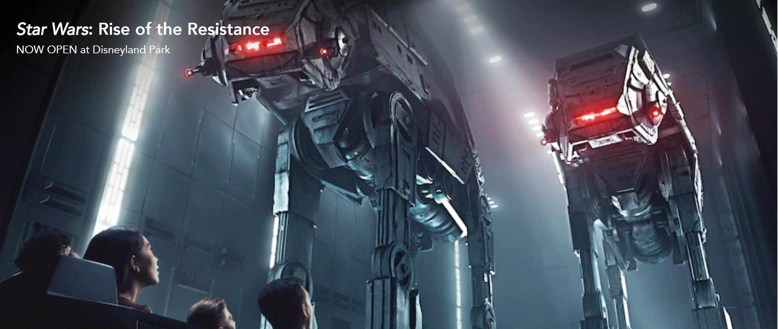ディズニーランドリゾート アナハイム スター・ウォーズ: ライズ・オブ・ザ・レジスタンスに乗る方法 Disneyland Resort Anaheim Star Wars: Rise of the Resistance