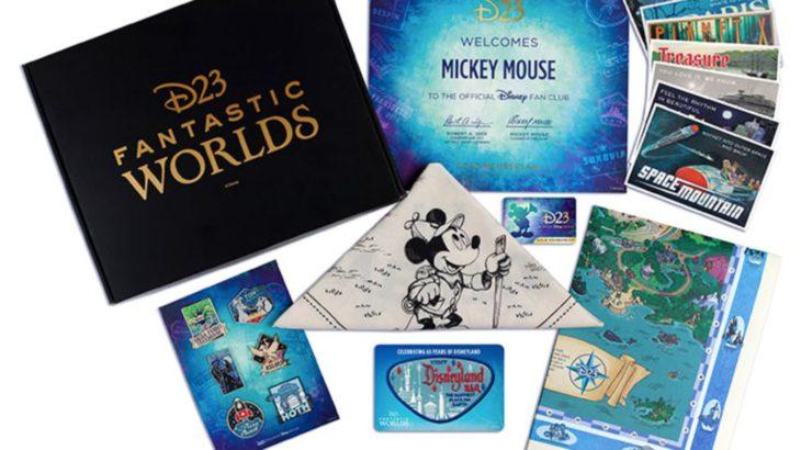 【2020年】アメリカの公式ディズニーファンクラブ D23 Gold Membershipの特典!!