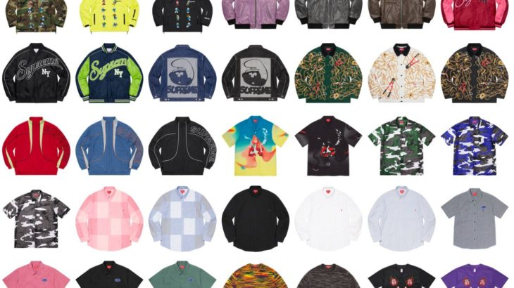 Supreme Fall/Winter collection 2020 販売開始!!