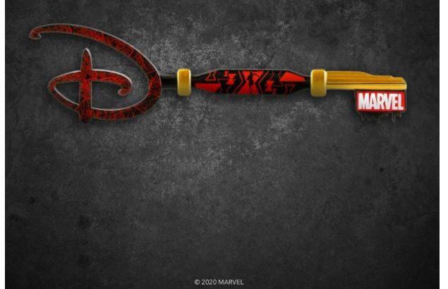 アメリカ限定!?ディズニー AvengersからBlack widowのcollectible keyが登場!!!