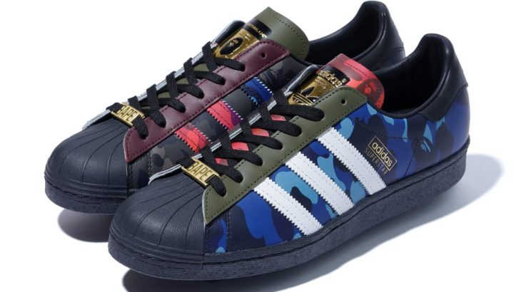 いま欲しいA BATHING APE x adidasのスニーカー