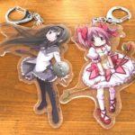 魔法少女まどか☆マギカからEdy機能付きキーホルダーが販売!!