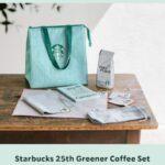 【6月28日まで!】スターバックス25周年限定セット(Starbucks 25th Greener Coffee Set)!